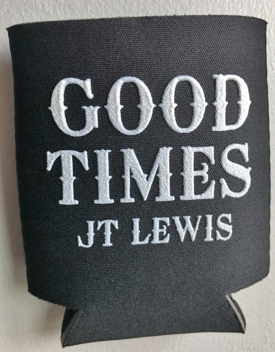 Good Times Koozie Black